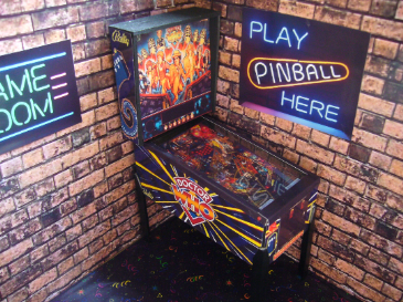 Dr Who  1/12th Scale Miniature Pinball Table Model